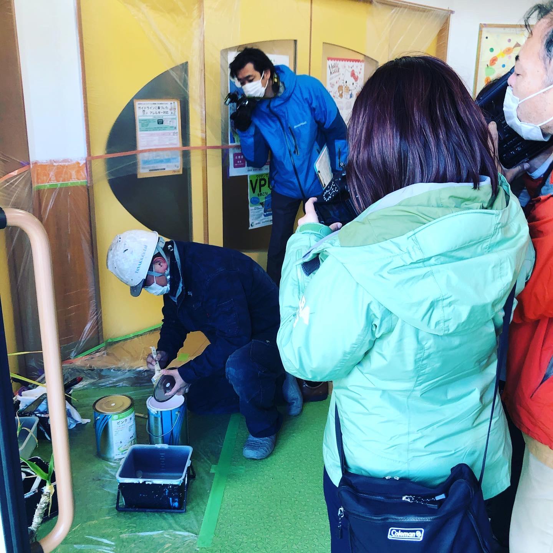 ボランティア活動がメディアで紹介されました。